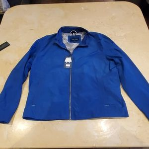 COLE HAAN WINDBREAKER ROYAL BLUE JACKET